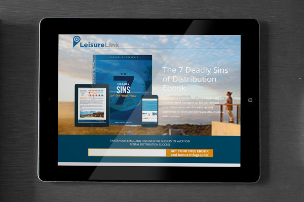Lead Gen Landing Page for Ebook