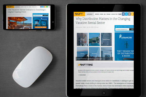 Skift Features LeisureLink